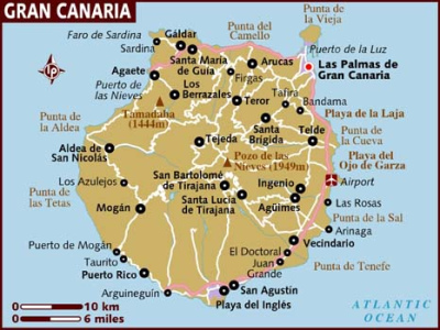 anfi del mar kart Arguineguín – Montecarrera